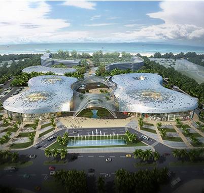 三亚海棠湾国际购物中心工程