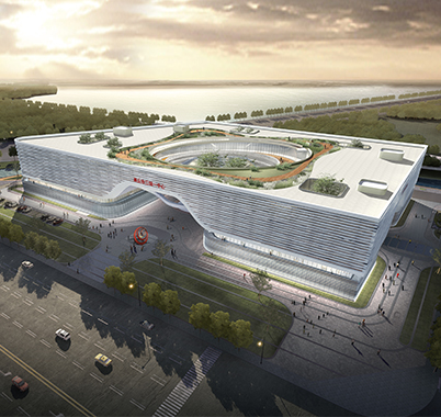 商丘市图书馆、方志馆、展示馆、市民中心(三馆一中心)建设工程