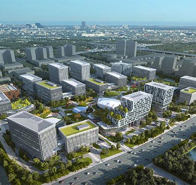 南通市中央创新区科创中心一期(南通高等研究院)/A项目工程