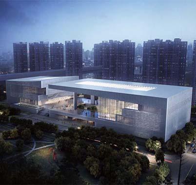 龙华文体中心工程