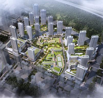 2022年第19届亚运会媒体村地块标段一项目